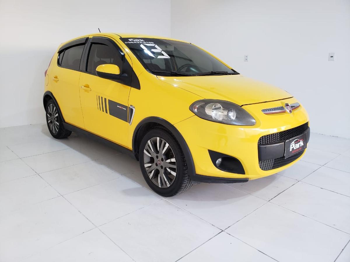 Fiat Palio SPORT.INTERLAGOS – 2013 – Amarelo