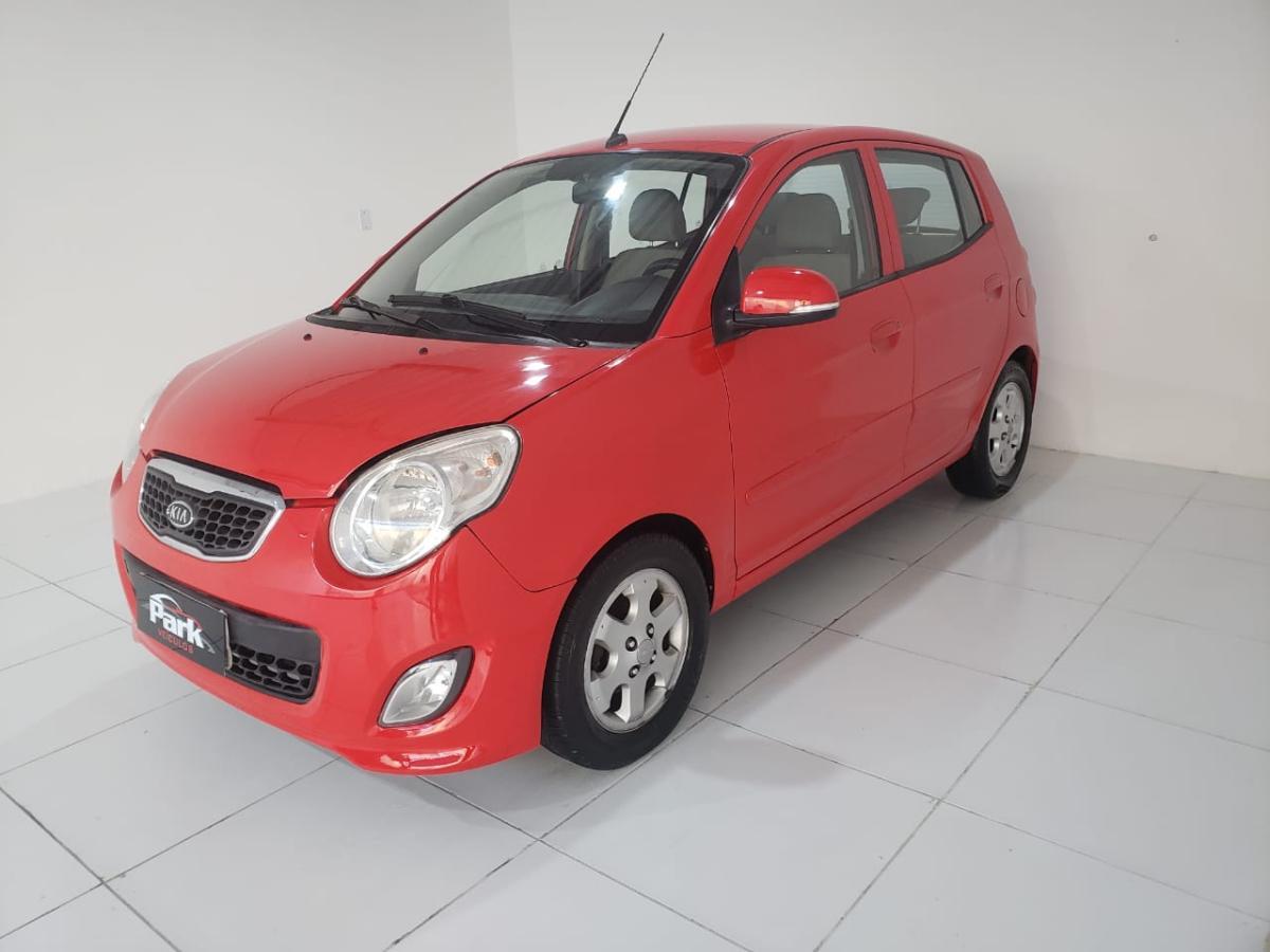 Kia Motors Picanto EX – 2011 – Vermelho