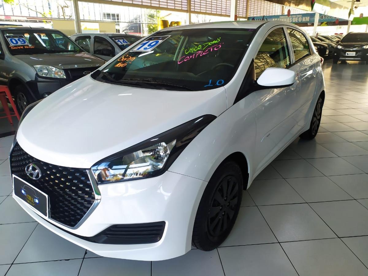 Hyundai HB20 Unique – 2019 – Branco