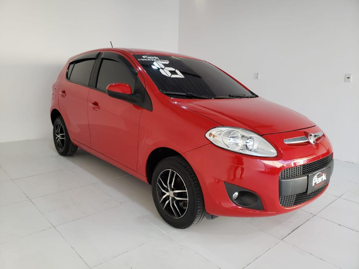 Fiat Palio – 2016 – Vermelho
