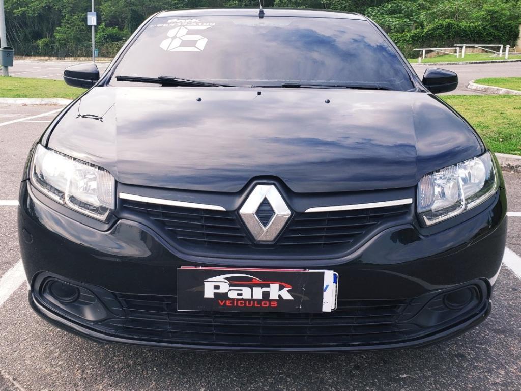 Renault LOGAN Expression Hi-Flex – 2016 – Preto