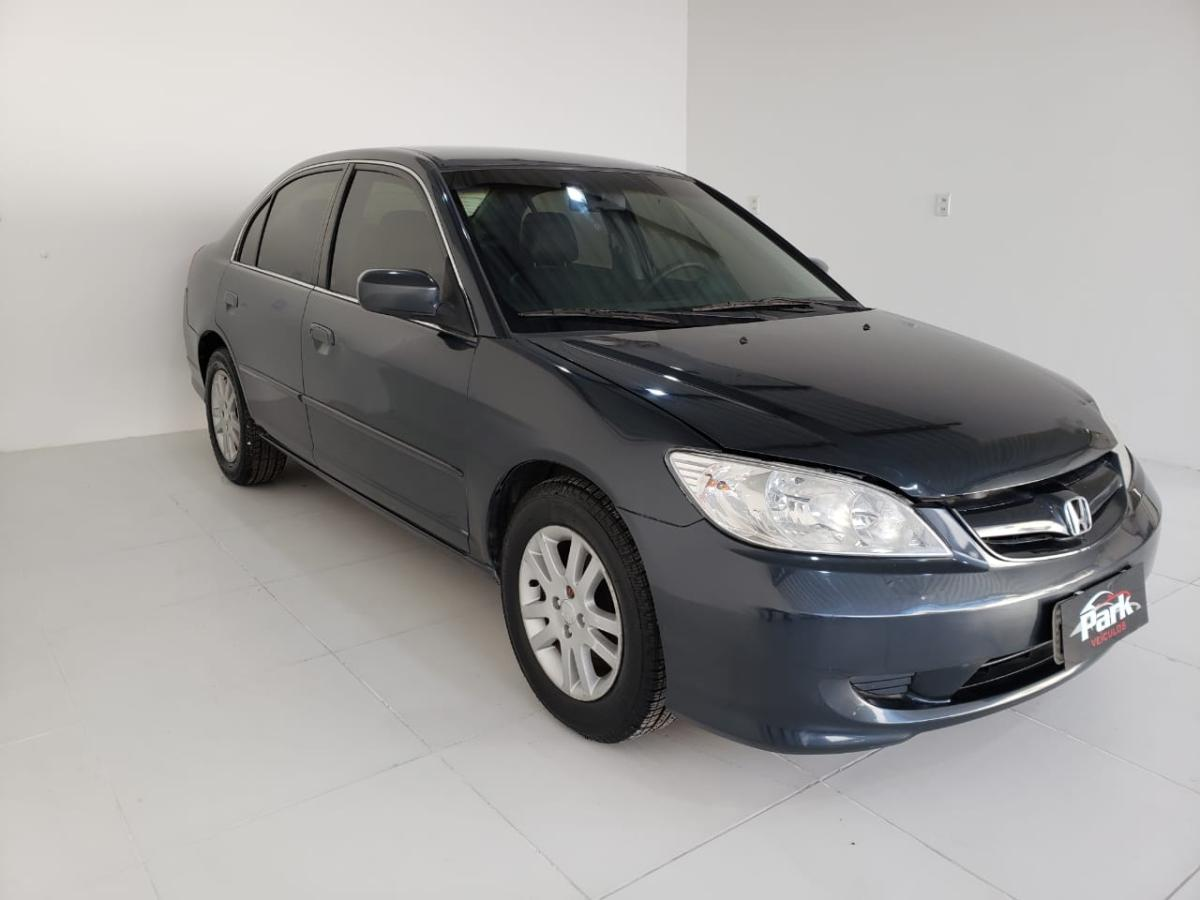 Honda Civic Sedan LX – 2005 – Preto