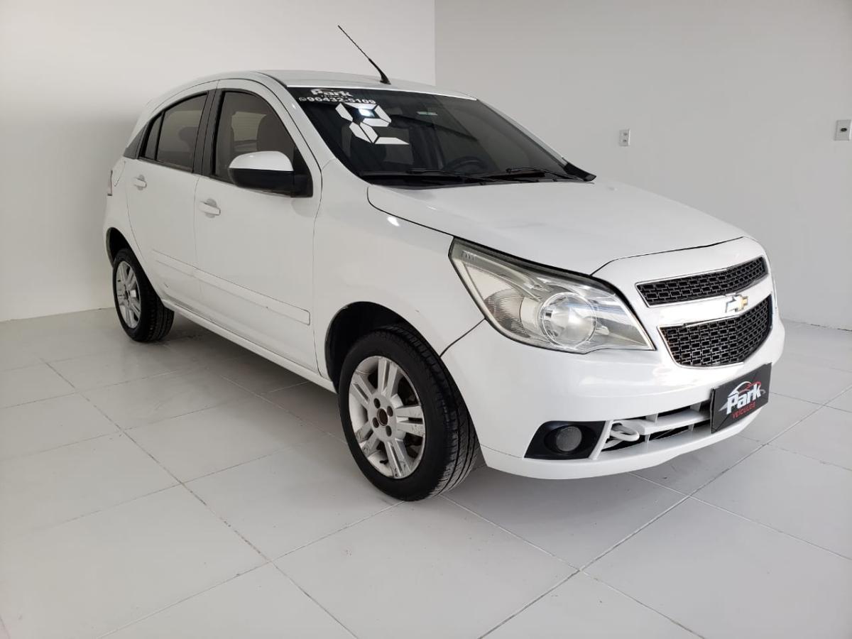 Chevrolet Agile – 2012 – Branco