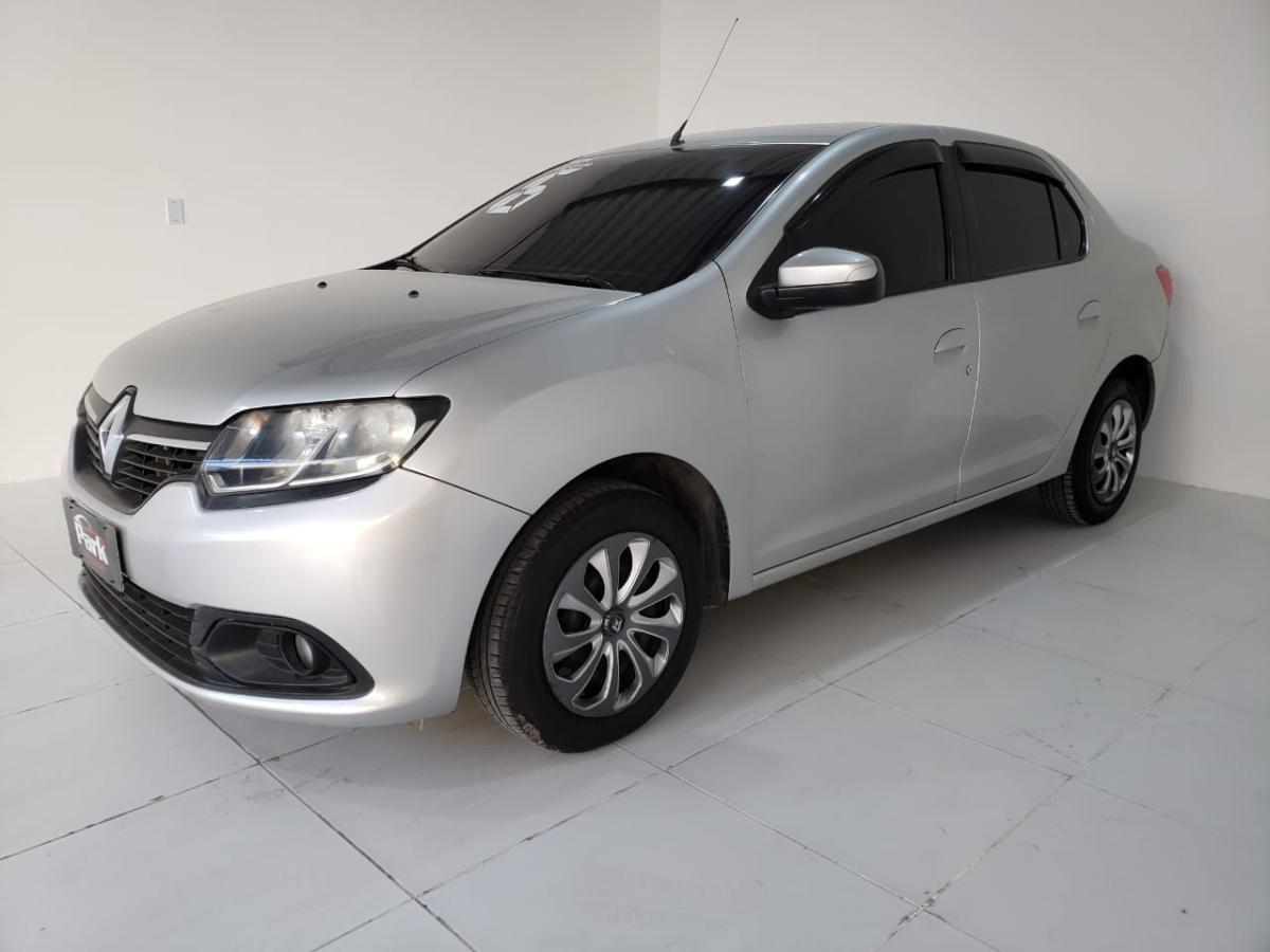 Renault LOGAN Expression Hi-Flex – 2016 – Prata