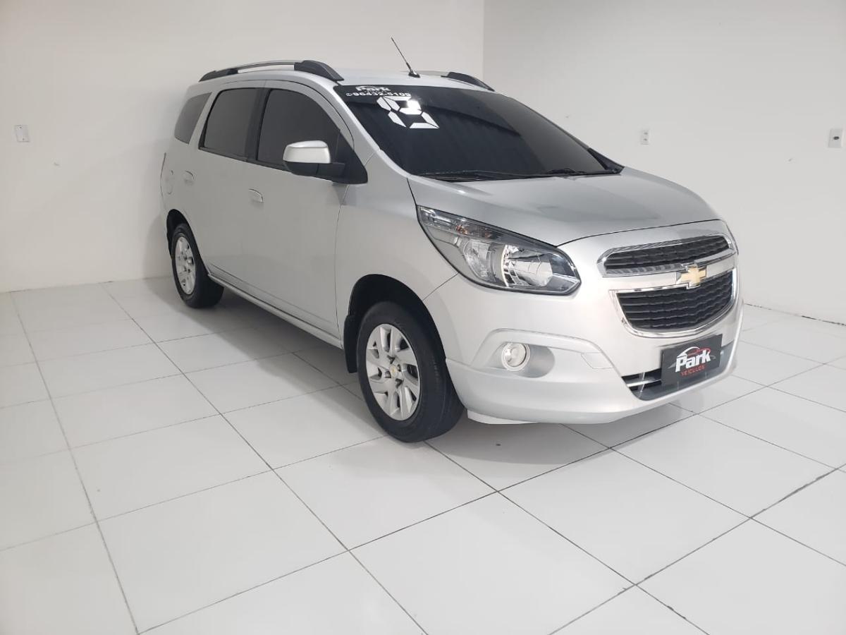 Chevrolet SPIN LTZ – 2015 – Prata