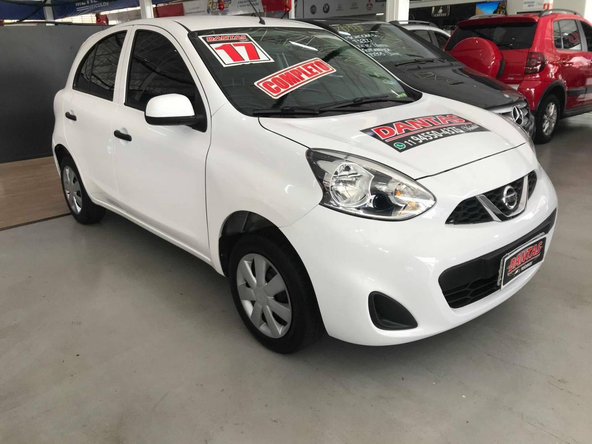 Nissan MARCH S – 2017 – Branco